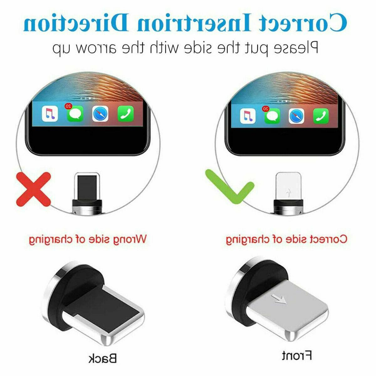 180+360° Rotate Charger Cable USB iPhone