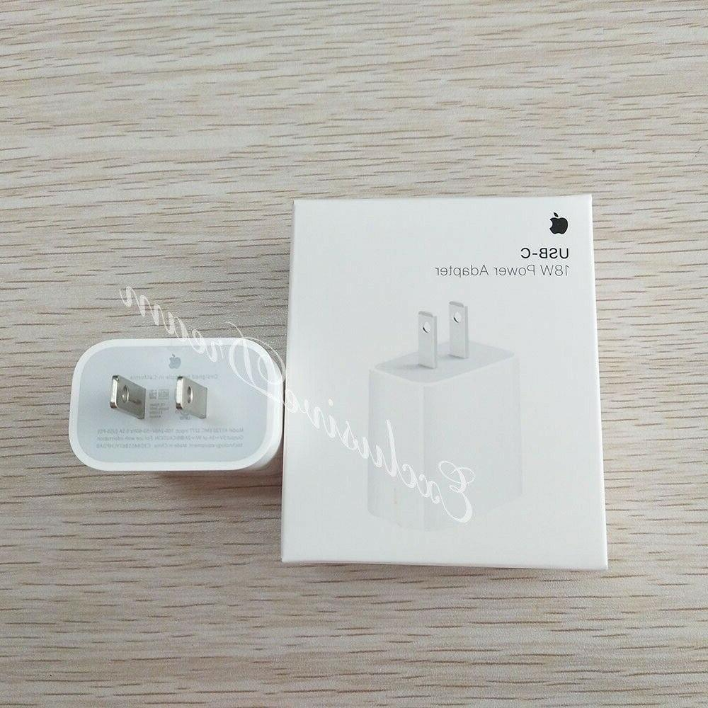 Apple Charger Power Adapter iPhone XR iPad Air