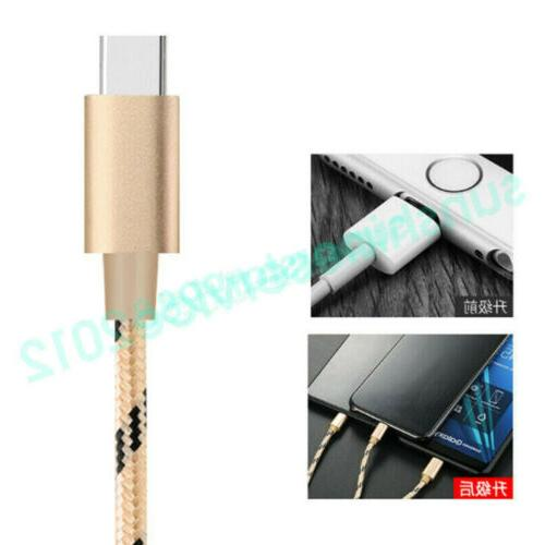 1M Braided Fast Charge C C Cable