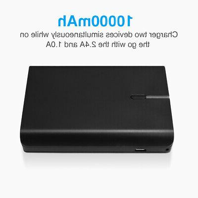 10000mAh Portable USB Battery Cell Phone XR XS MAX