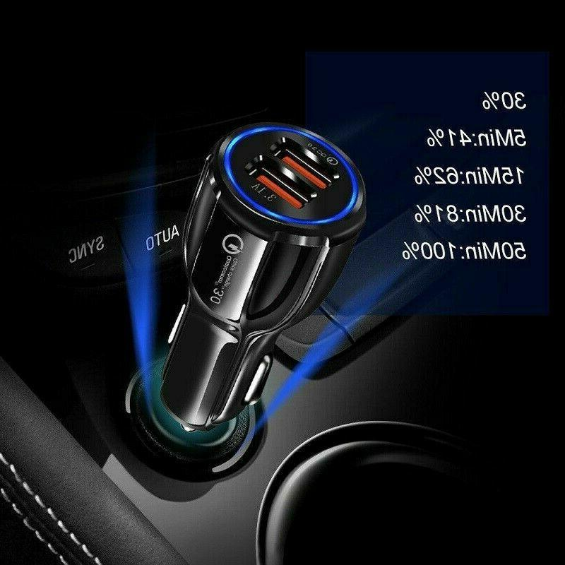 2 Fast Car Charger USB Android