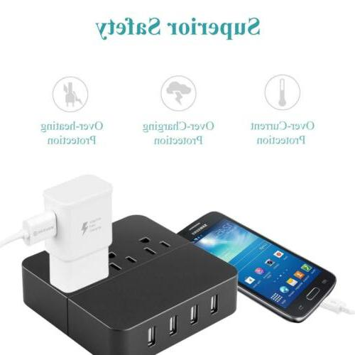 2AFast Charging Cell Phone Charger USB Plug Quick3.0 Wall IP
