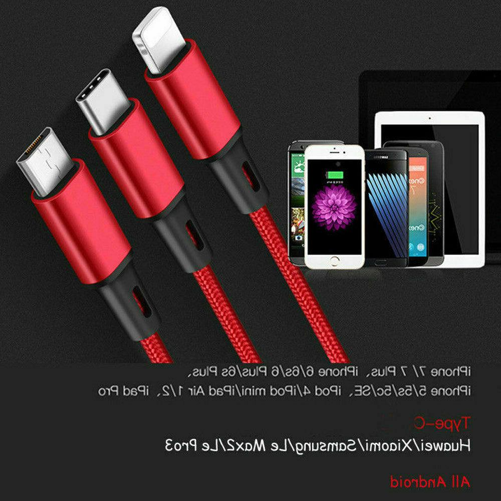 3 in 1 USB Multi Function Charger