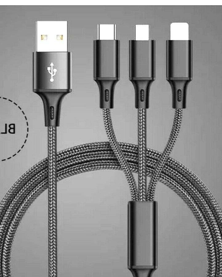 3 in Fast USB Multi Function Charger