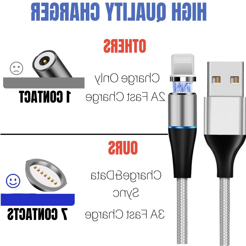 3 Magnetic Cable For iPhone