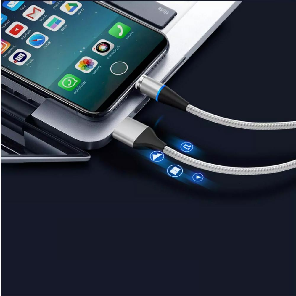 3 3/6Ft Lightning Magnetic Phone Charger Cable 3A iPhone
