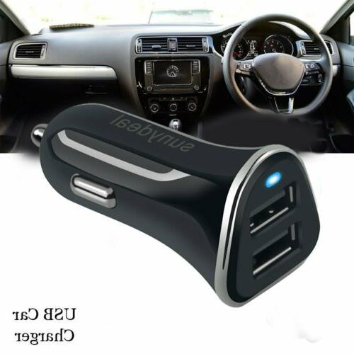 Dual USB Port 4.8A Universal Fast Cigarette Lighter Car Char