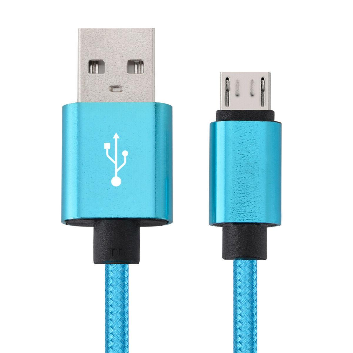 5-Pack Micro USB Charger Fast Cable Cord For Samsung