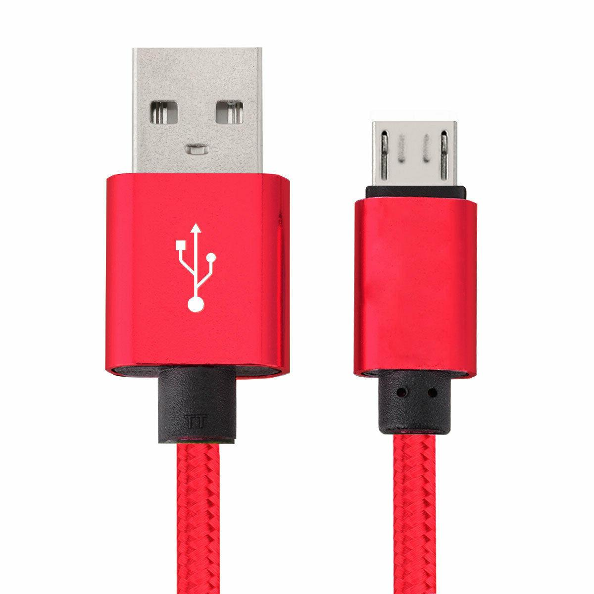 5-Pack Micro USB Fast For Samsung