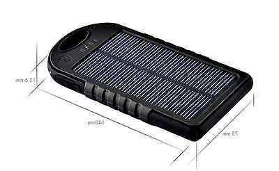 5000 Dual-USB Solar Battery Charger for