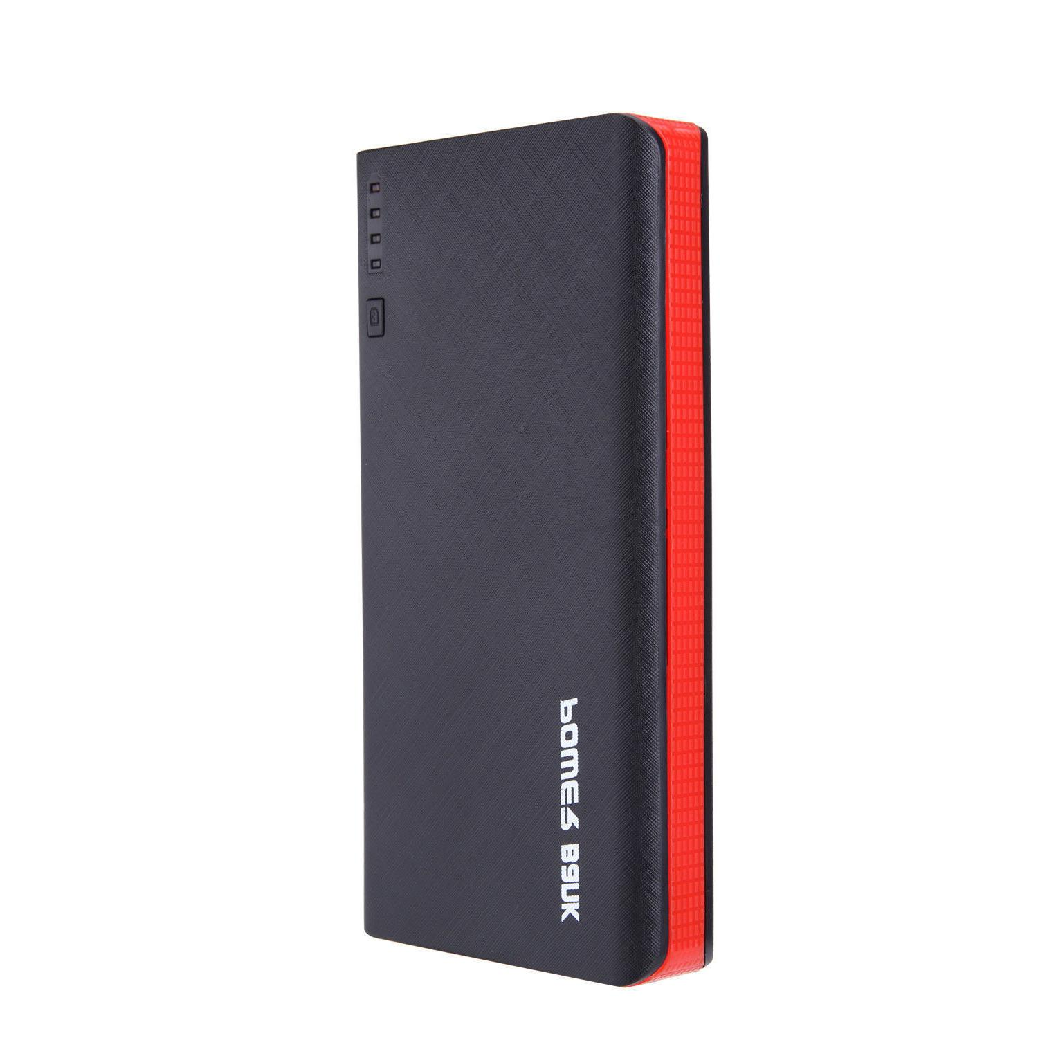 20000mAh 4 External Power Bank LED Charger for Cell Phone