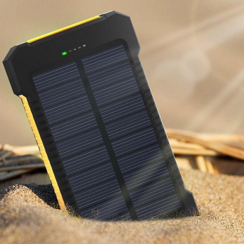50000mah Dual-USB Solar Power Bank