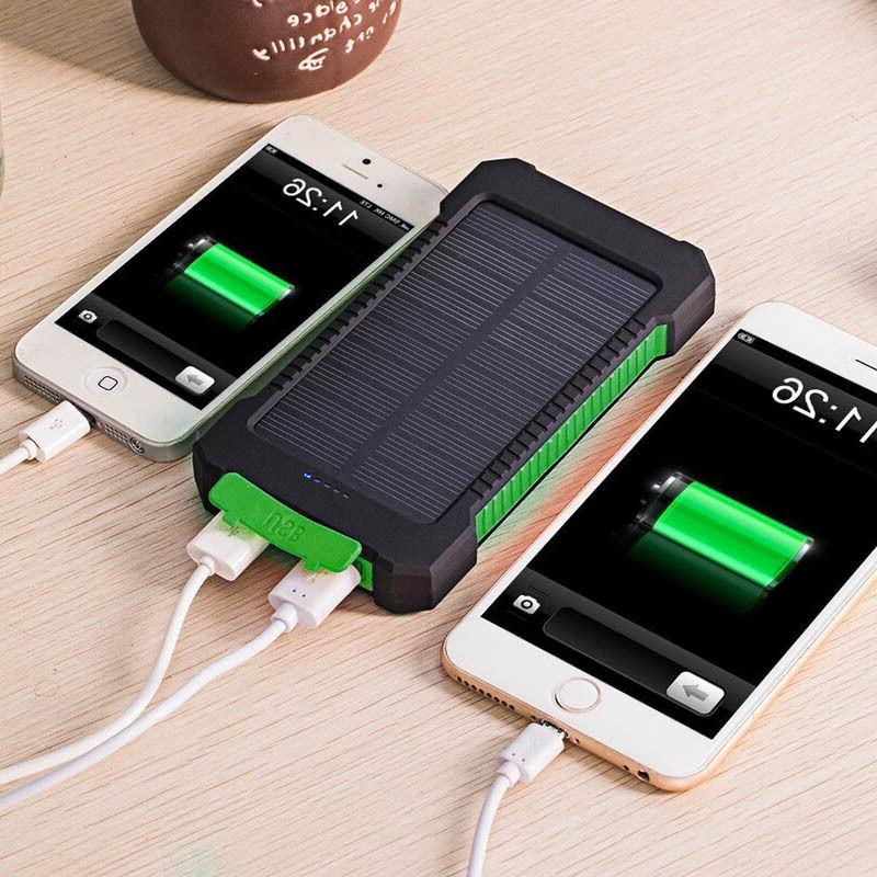 50000mah dual usb waterproof solar power bank
