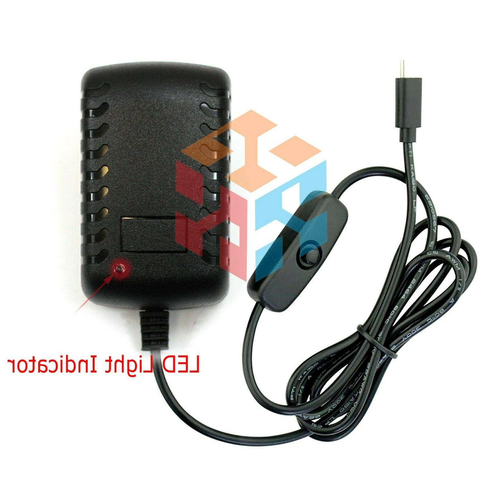 5V Micro USB AC Power Charger Raspberry Pi
