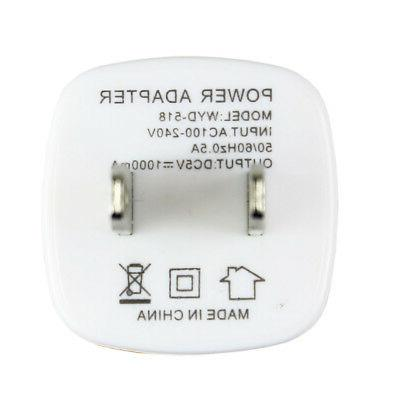 5x 1A USB Charger AC 5 6