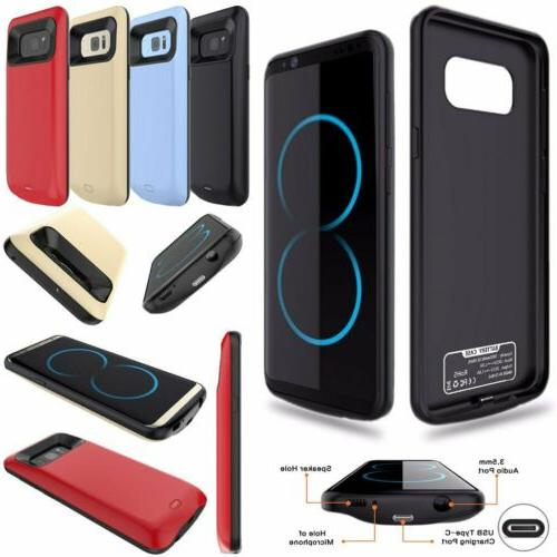 8000mAh External Battery Charger Power Case For Samsung Gala
