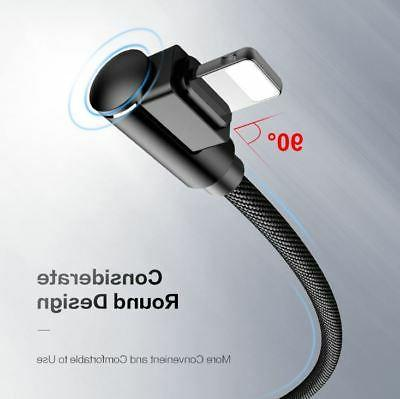 FLOVEME 90° USB Cable Data Charger pple i Phone