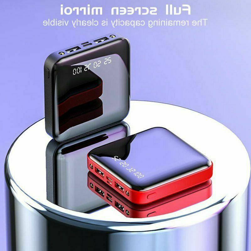10000mAh Bank Mini USB Charger Mobile