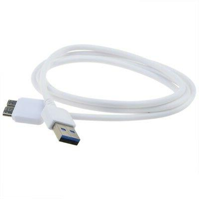 Fite ON USB3.0 DC Power Charger Data Cord Lead Cable for Sam
