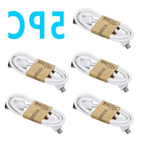 Lot OEM Micro Charger Fast Charging Cord For Phone USA
