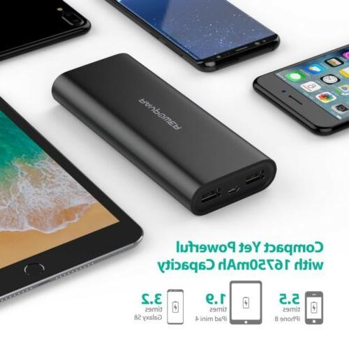 Portable Charger 16750 Updated Battery 16750mAh Ban
