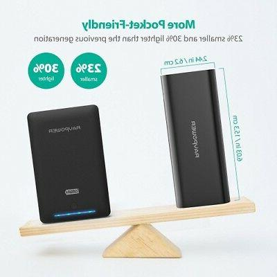 Portable Charger RAVPower 16750 Updated Phone 16750mAh Power