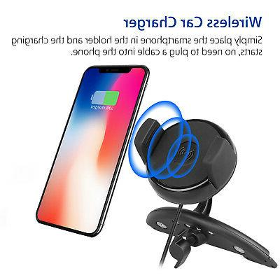 QI Wireless Car For 8 Samsung S9