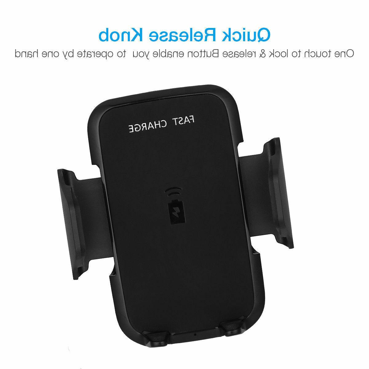 Qi Wireless Fast Phone Car For Samsung S6
