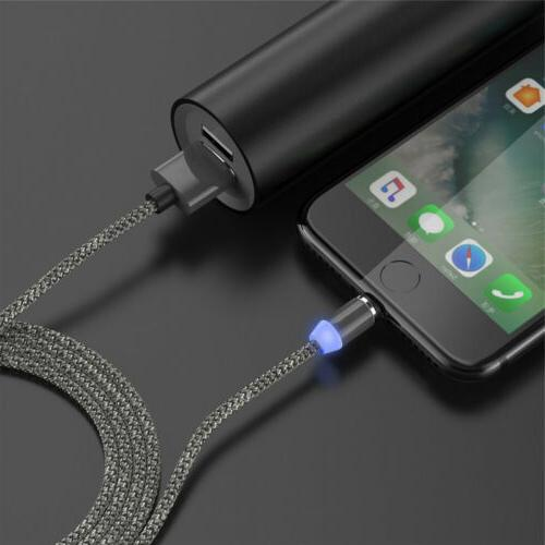US Magnetic USB Round Charger Cable