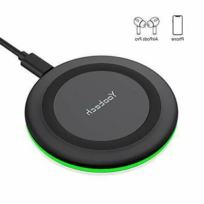 Wireless Charger Qi-Certified, Yootech 7.5W Wireless Charger
