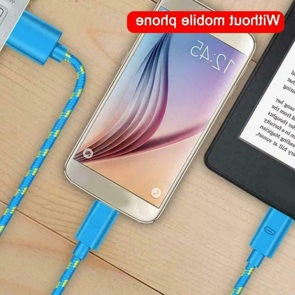Braided Fast C Data Phone Charger Free - Cable