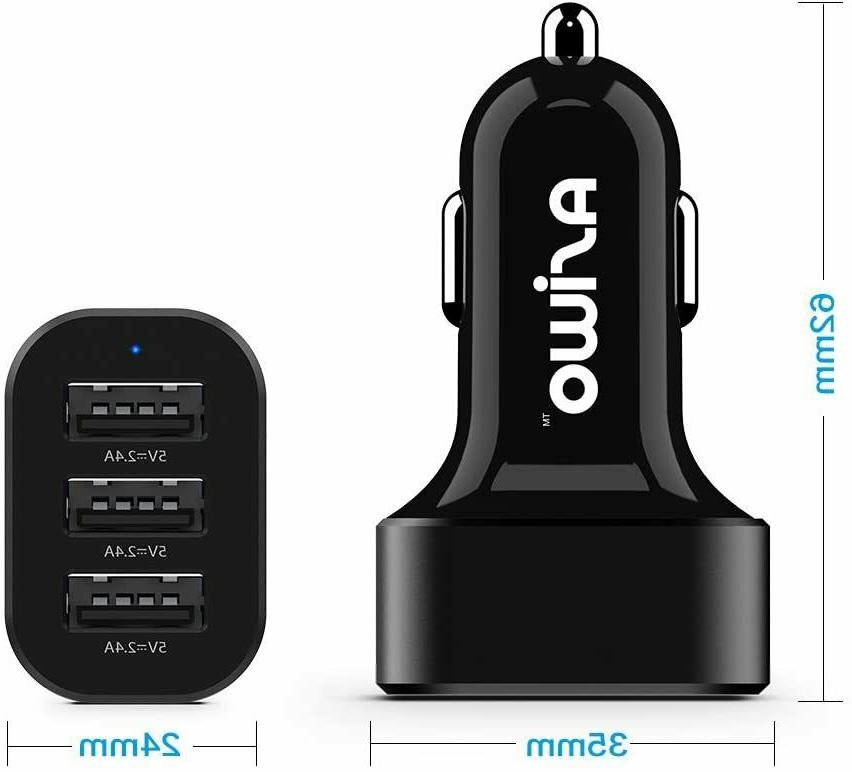 Asiwo Charger USB Phone 2.4Ah Fast
