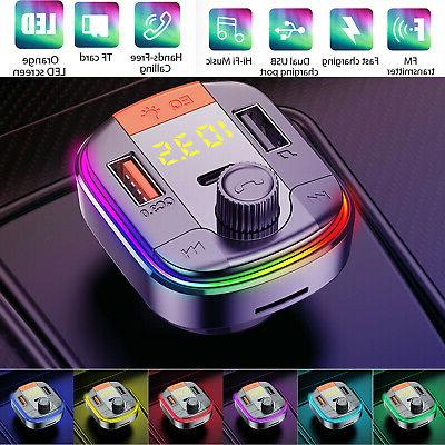 dual usb car lcd cigarette lighter socket