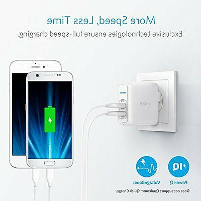 Anker USB Wall PowerPort 2 with PowerIQ, Plug