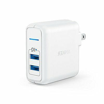 Anker Elite 2-Port USB 2 PowerIQ, Foldable Plug
