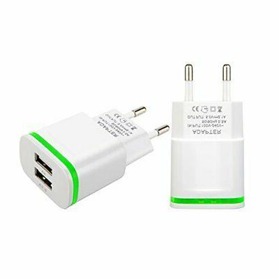 europe wall charger 2pack 2 1a 5v