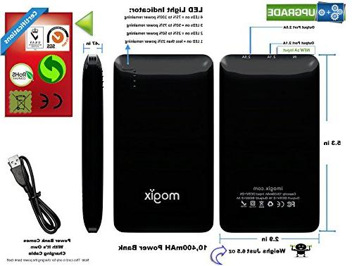 Mogix Charger Power Pack - Best Fast USB Ports