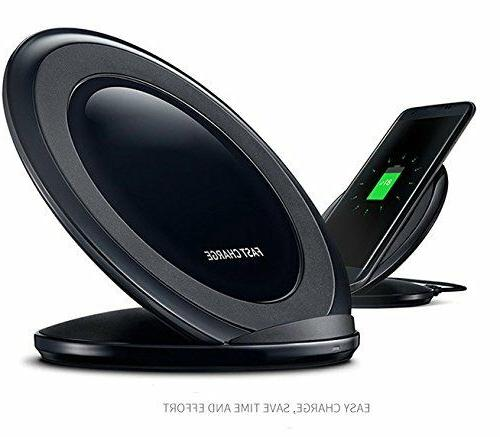 Fast Qi Wireless Charger Charging Stand for Samsung Galaxy N