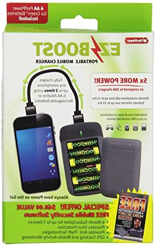 gogreen ezboost portable mobile charger
