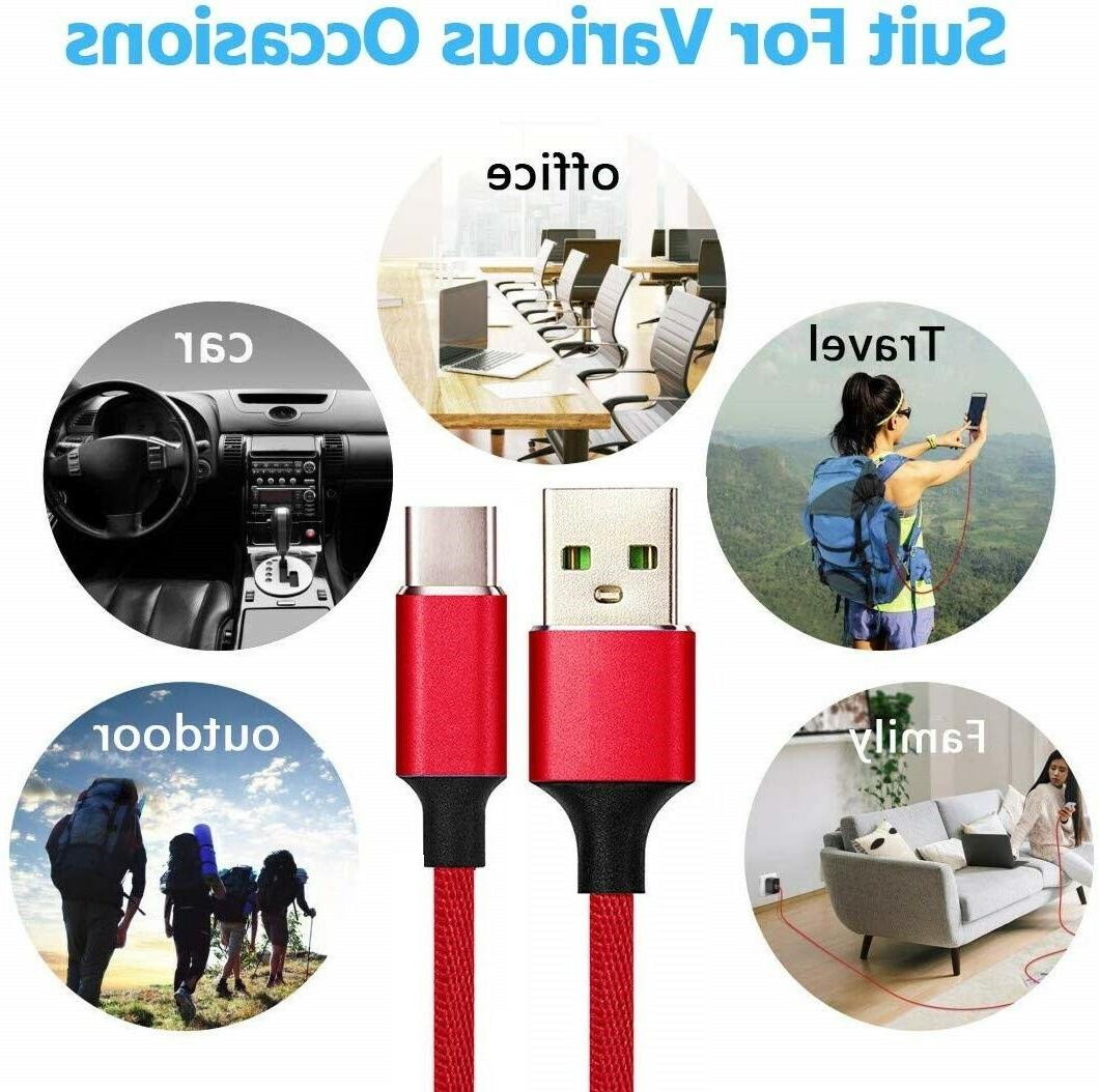 Heavy Duty Charging Phone Cable Type C Micro