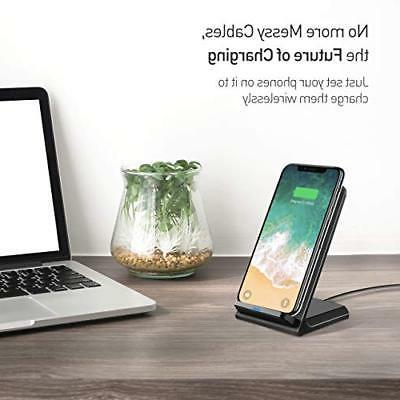 Charger Qi Fast Charging Pad Stand No