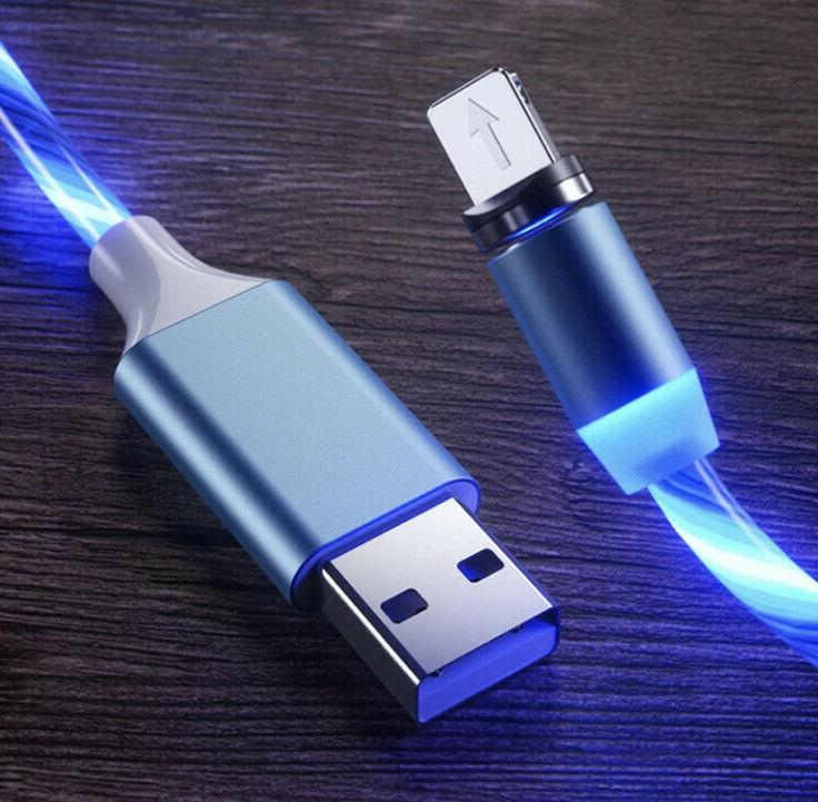 Light Phone Charger LED USB Charging iPhone C