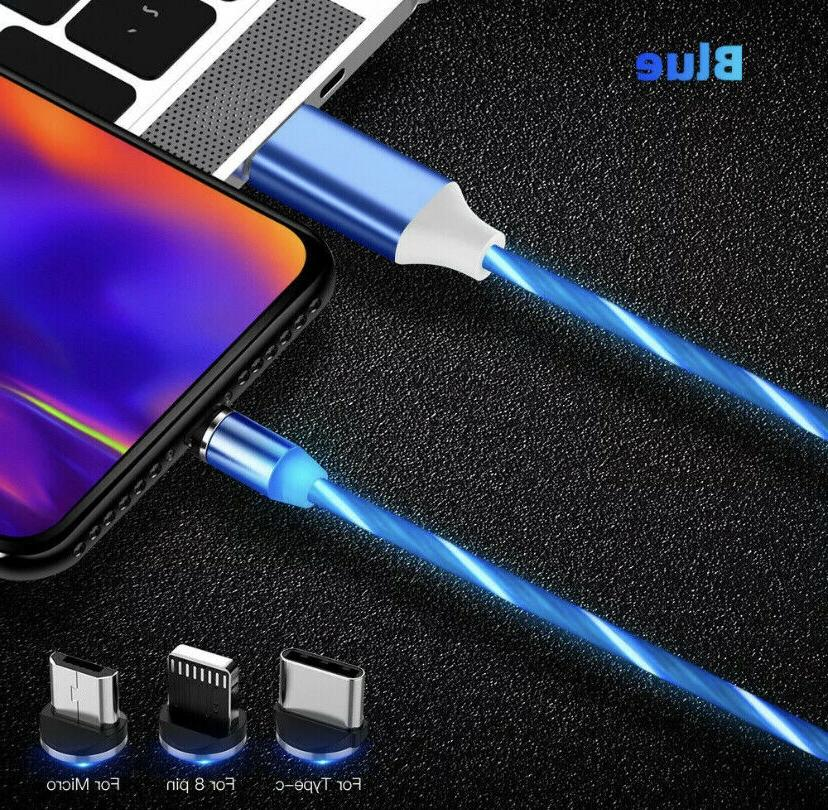 Magnetic LED Lightning PHONE Charger 3