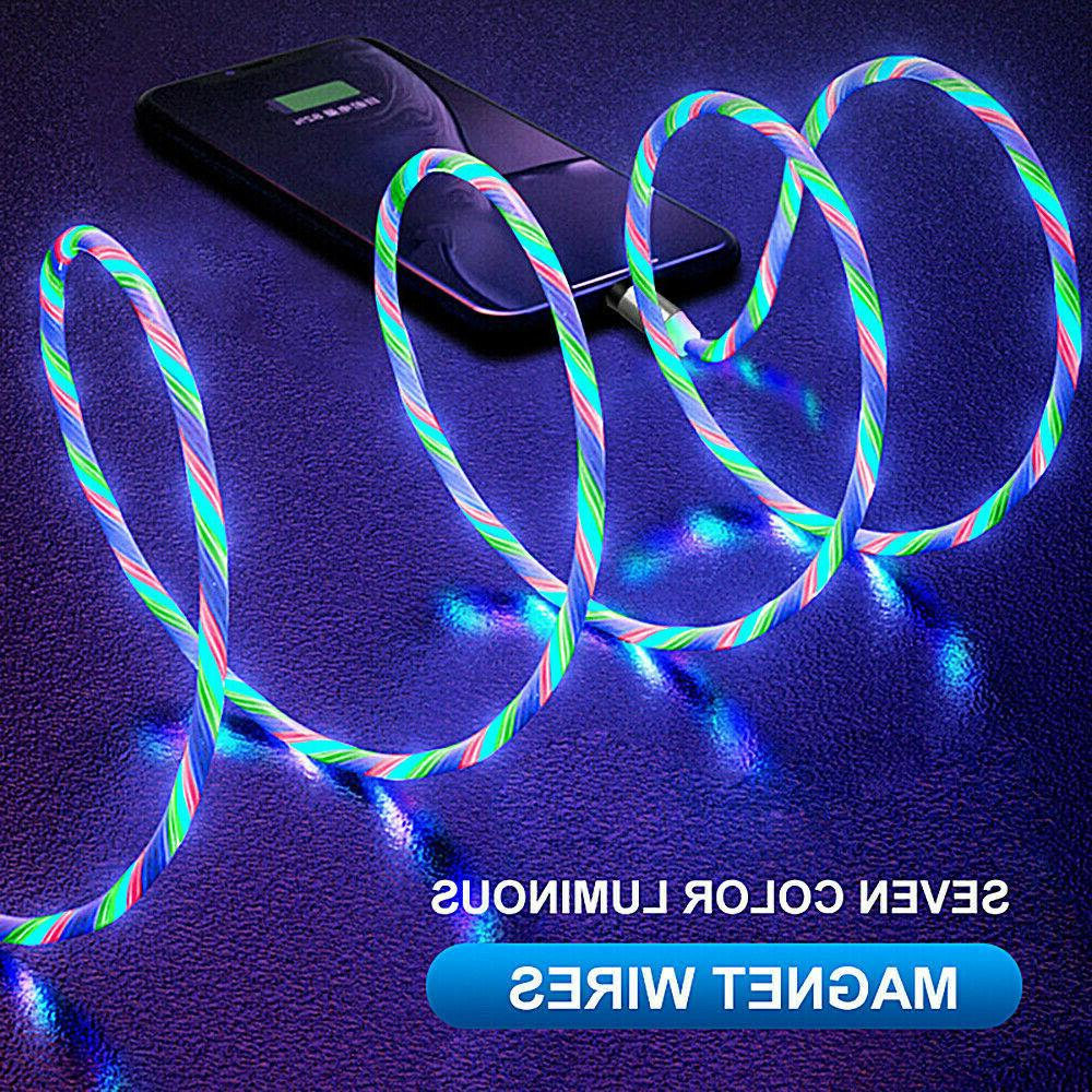 Magnetic LED Lightning Micro PHONE TYPE