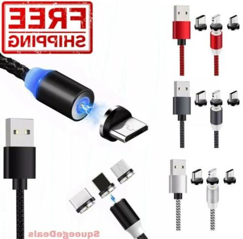 magnetic phone charger cable 1m 2m lightning