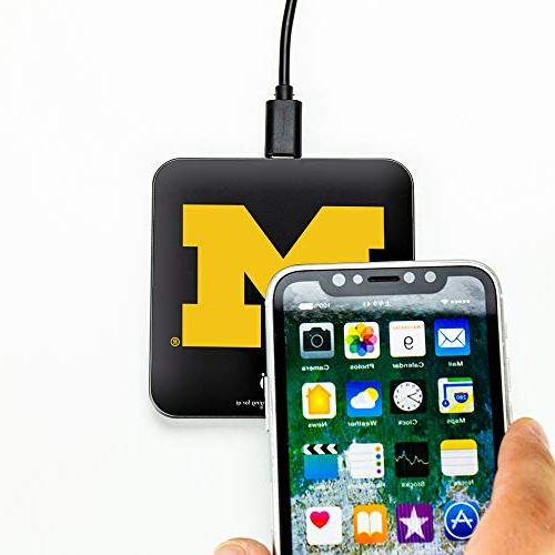 Michigan Wolverines QuikCharge Charger - Qi