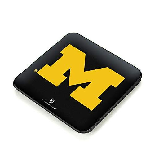 michigan wolverines quikcharge wireless charger