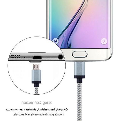 Micro USB Cable Android Charger Braided Long 2.0 Micro Charging Cable Huawei, Motorolaand Other