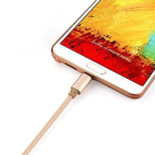 Cable Android Charger Braided Extra 2.0 Micro USB Cord for Samsung Other Tablet