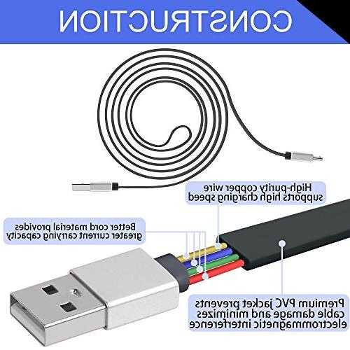 Micro USB Charger 2.0 Charging and Sync for Android